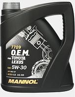 Моторное масло Mannol O.E.M. for Toyota Lexus 5W30 4L
