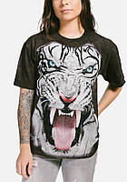 3D футболка женская The Mountain р.S 46-48 RU футболки женские с 3д рисунком White Tiger