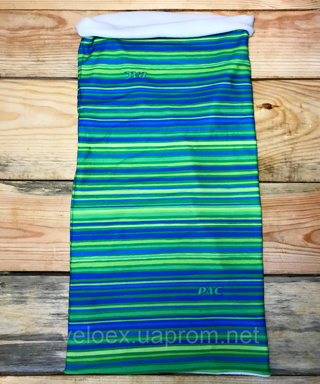 Головной убор P.A.C. Twisted Fleece All Stripes Lime