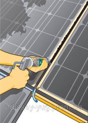 Герметик для фасадного остекления Tekasil WS. Силиконовый уплотнитель швов на фасадах. Фасадное остекление