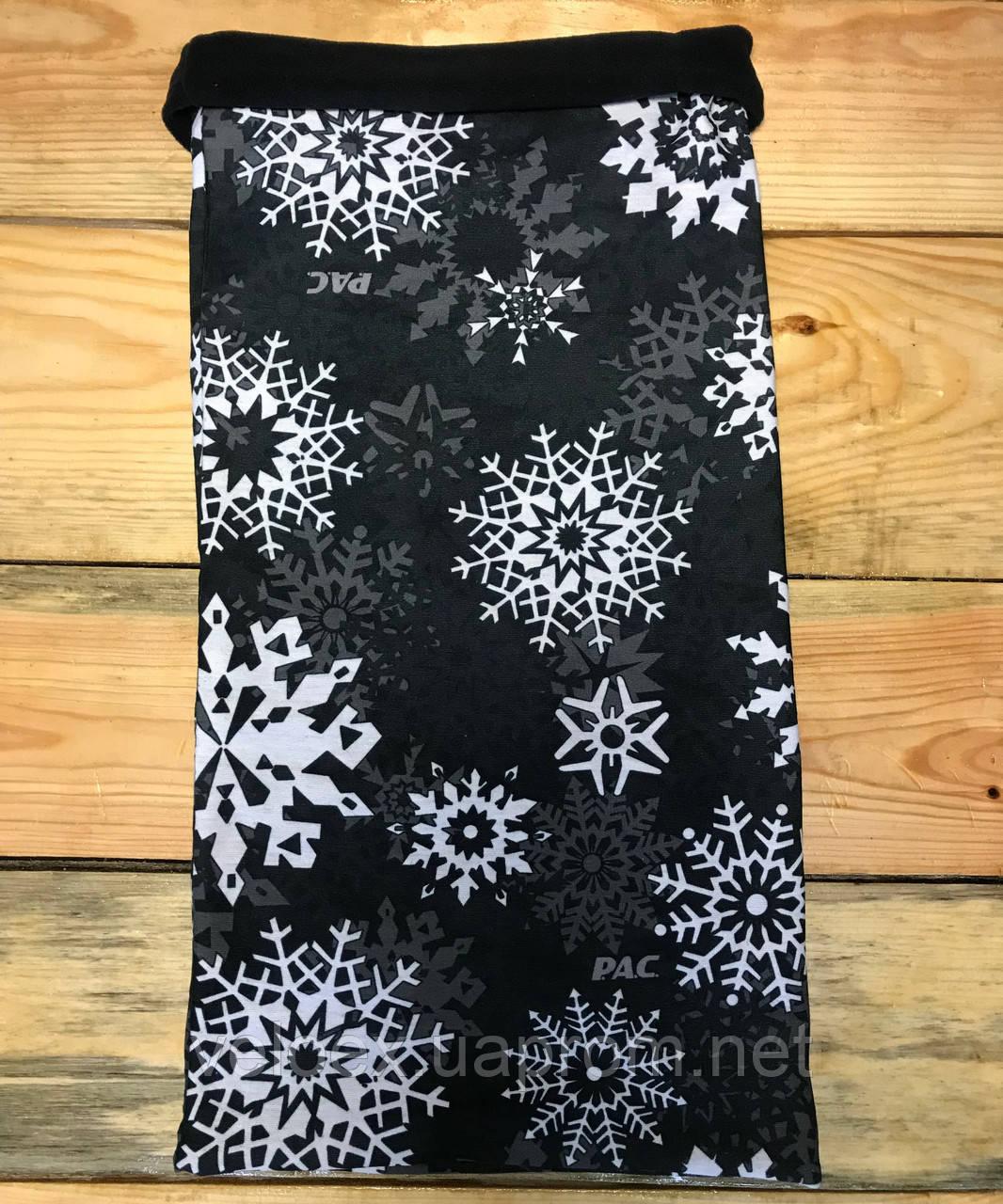 Головной убор P.A.C. Twisted Fleece Ice Crystal Black, фото 1