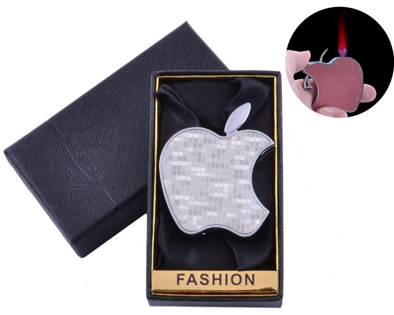 Зажигалка в подарочной коробке Apple (Турбо пламя) №XT-5-1