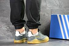 Мужские кроссовки Adidas Kamanda,замшевые,серые 43р, фото 2