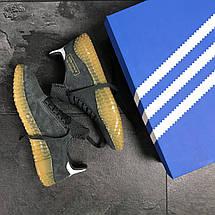 Мужские кроссовки Adidas Kamanda,замшевые,серые 43р, фото 3