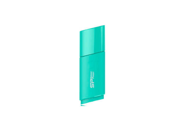 USB флеш накопитель USB Silicon Power Ultima U06 16GB lake blue (SP016GBUF2U06V1B)