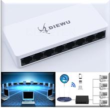 Комутатор мережевий 8 портів, Ethernet 10/100Mb з БЖ