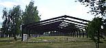 Ангар тип - «Танковий»  3150кв.м. Двускатный, в наличии. Цех,навес,каркас,фермы, склад., фото 3