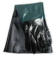 Резиновые перчатки для пескоструя