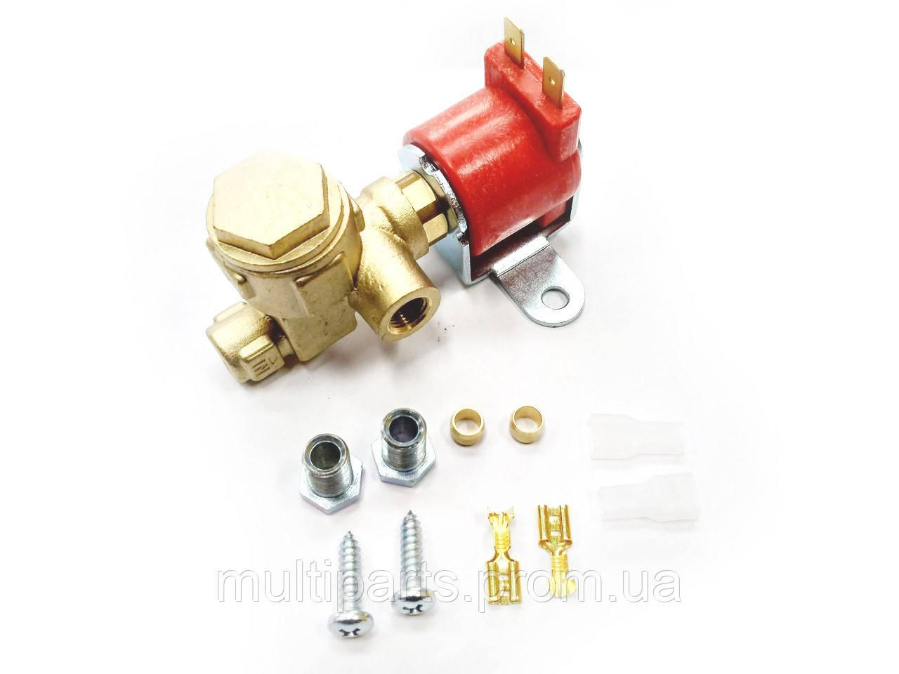 Электромагнитный клапан газа ASTAR GAS угловой вх. вых. 6 мм