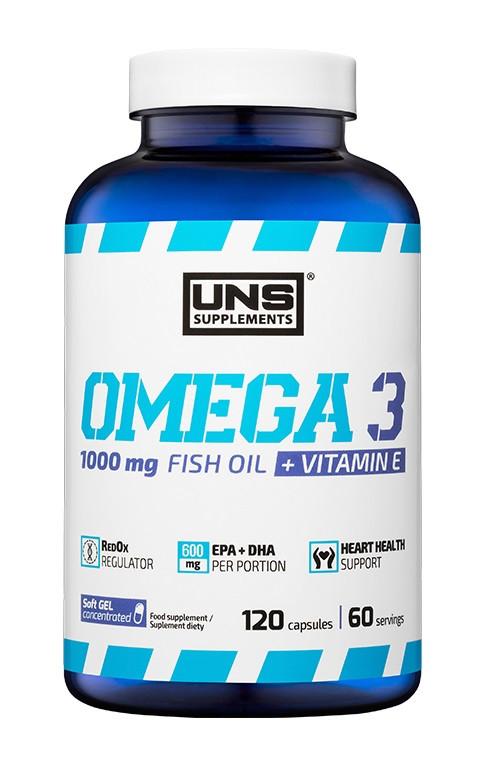 Омега UNS - Omega 3 2000 мг (120 капсул)