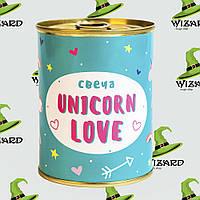 Консерва свеча Unicorn Love, фото 1