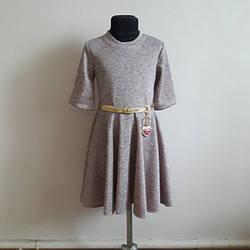 Нарядное платье  Альвина для девочки 122-140.