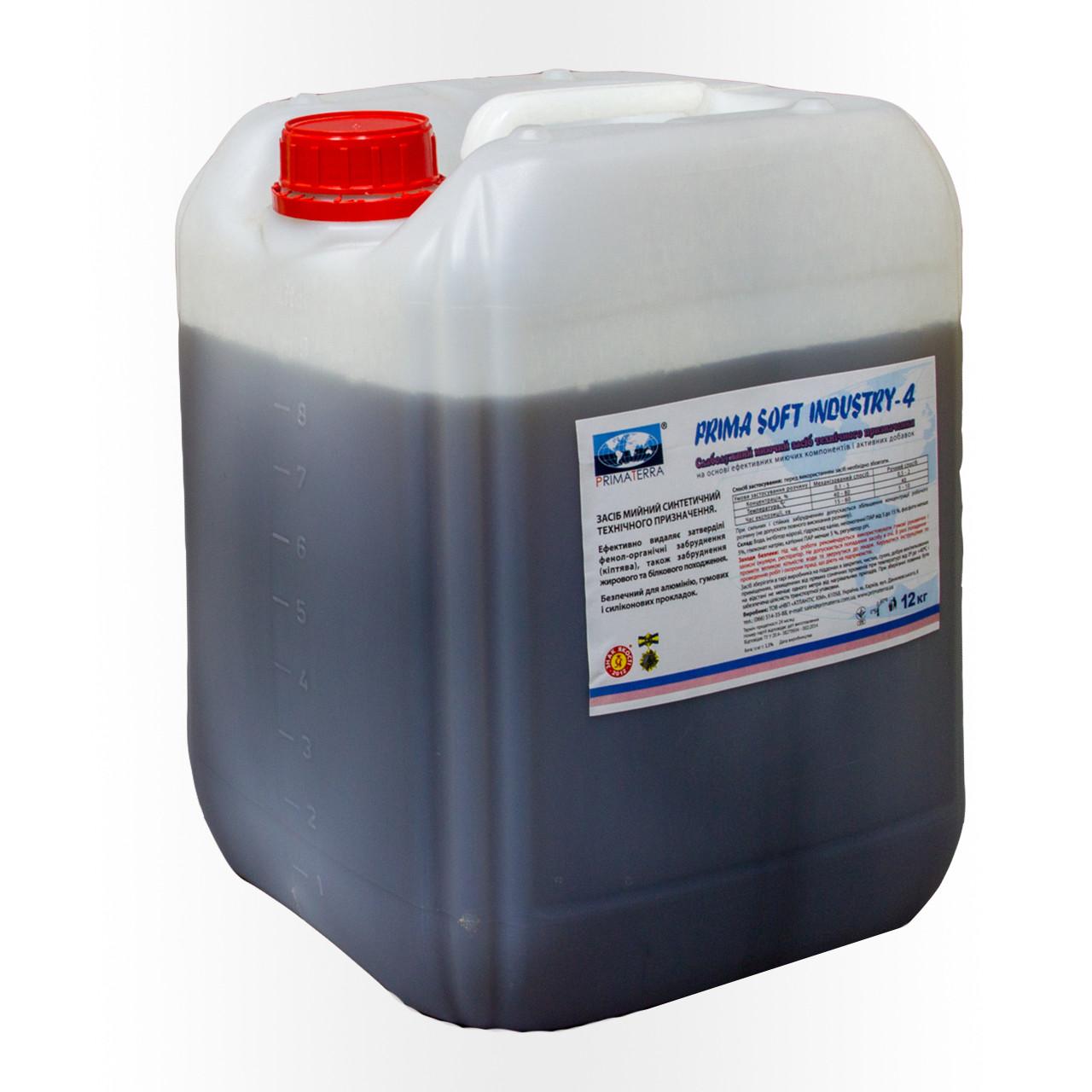 Слаболужний пінний миючий засіб для алюмінію Industry-4 (12 кг)