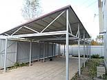 Односкатний Ангар 10х36х6 склад, каркас, 360 кв.м. новий, фото 5