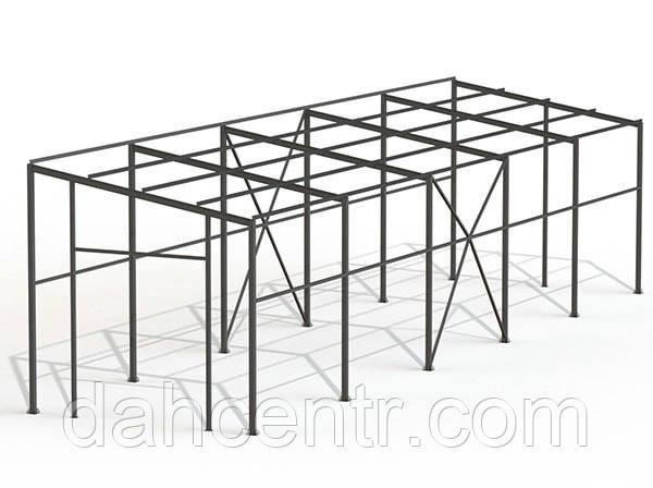 Односкатний Ангар 10х36х6 склад, каркас, 360 кв.м. новий