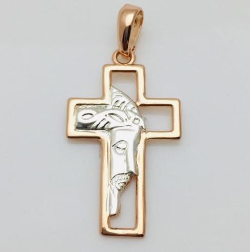 Крест с лицом