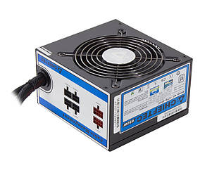 Блок питания Chieftec 650W CTG-650C, 120 mm, 20+4pin, 1x4+8pin, SATA х 6, Molex