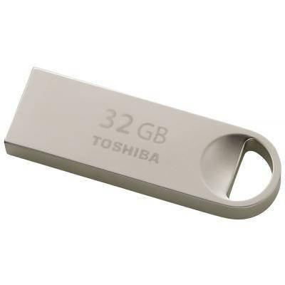 USB флеш накопитель TOSHIBA 32GB Owari Metal USB 2.0 (THN-U401S0320E4), фото 2