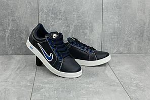 Кеды CrossSAV 35 (Nike) (весна-осень, подростковые, кожа, сине-голубой)