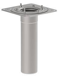 Нижня частина воронки BLUCHER з прижимним фланцем для PVC та TPO мембран DN110  арт.402.004.110