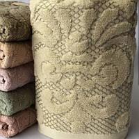 Полотенце для лица махровое Турция 50-90 см 100% хлопок разные цвета