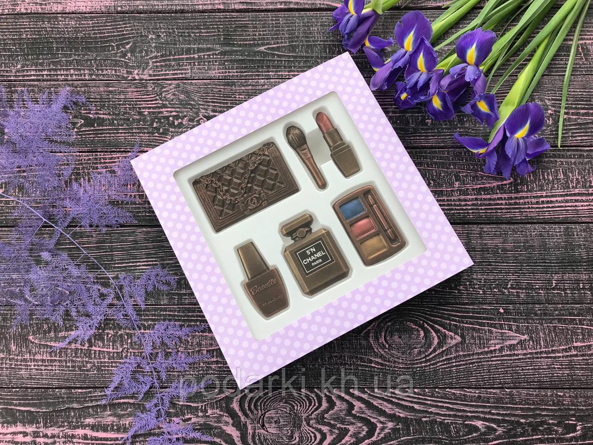 Шоколадный набор косметики для любимой