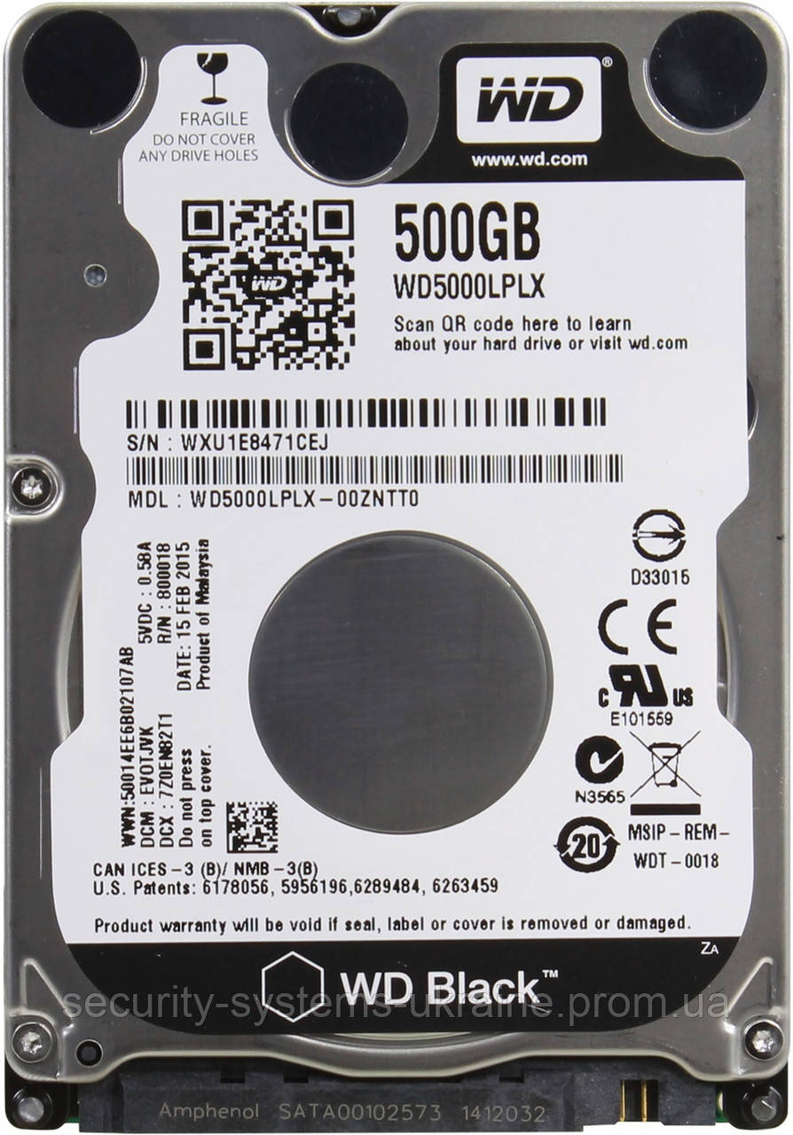 Жесткий диск WD5000LPLX 500Гб
