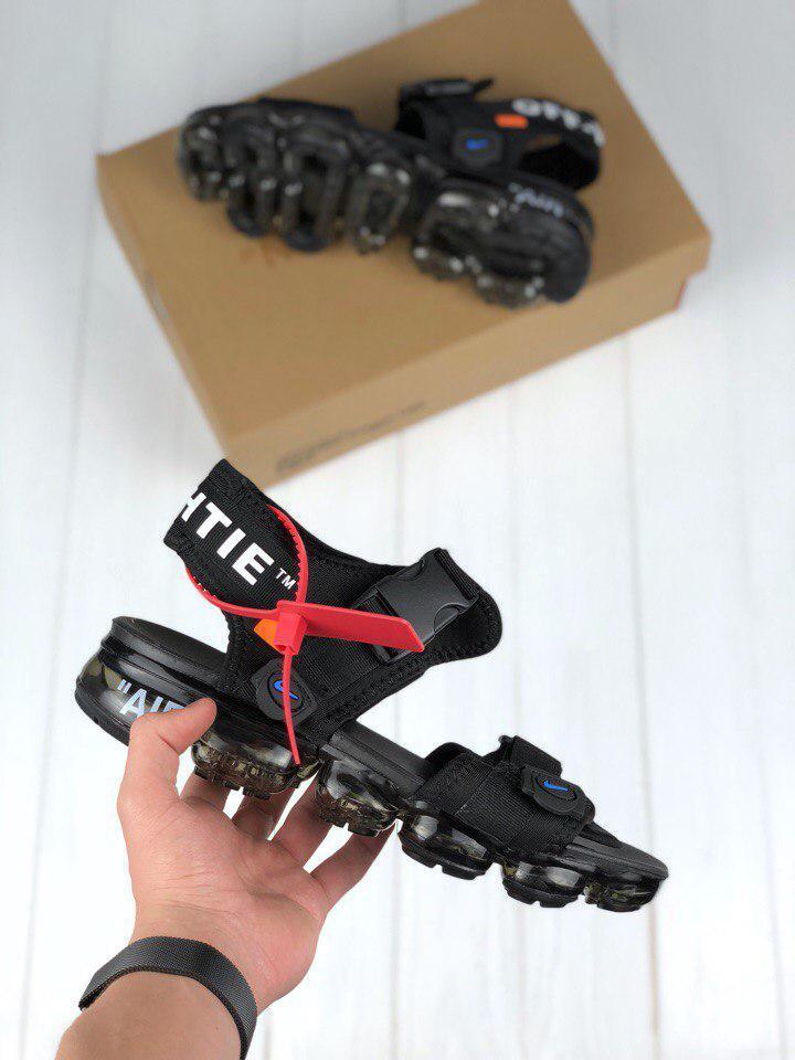 ae380d0a Мужские сандали Nike Sandals x OFF White. Живое фото. Топ качество!  (босоножки) (Реплика ААА+) 41