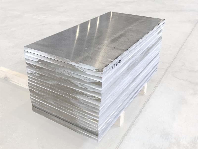 Куски алюминиевого листа 78 мм Д16