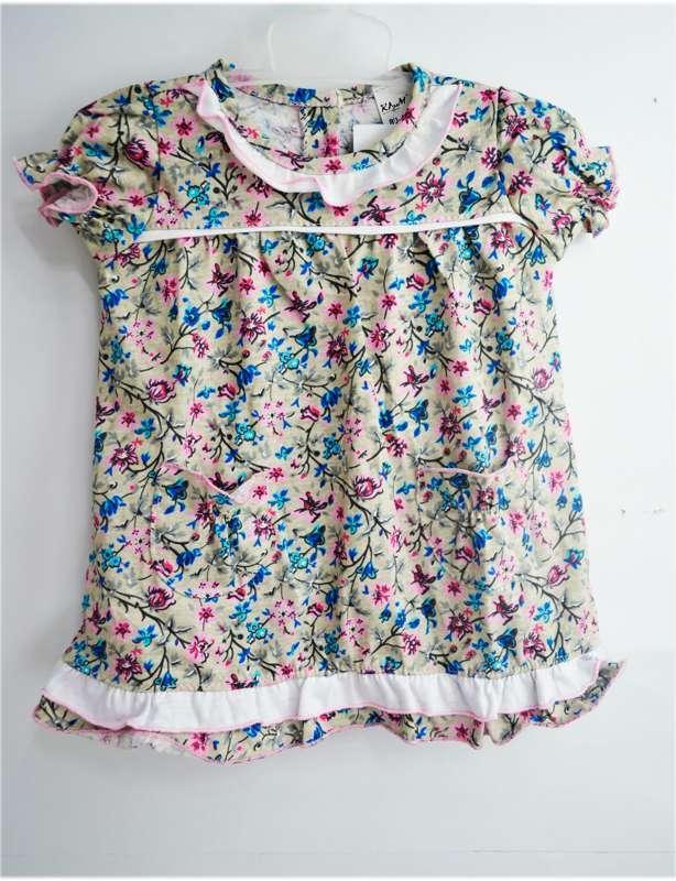 """Гр ПЛ-57 """"1"""" /р.86/ /цветы/ Платье для девочки"""