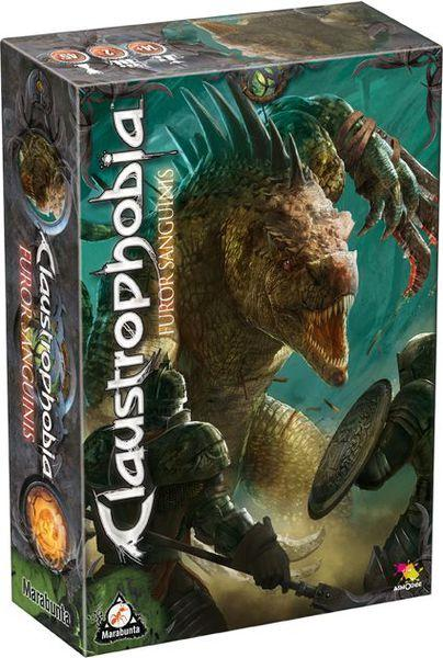 Настольная игра Claustrophobia: Furor Sanguinis