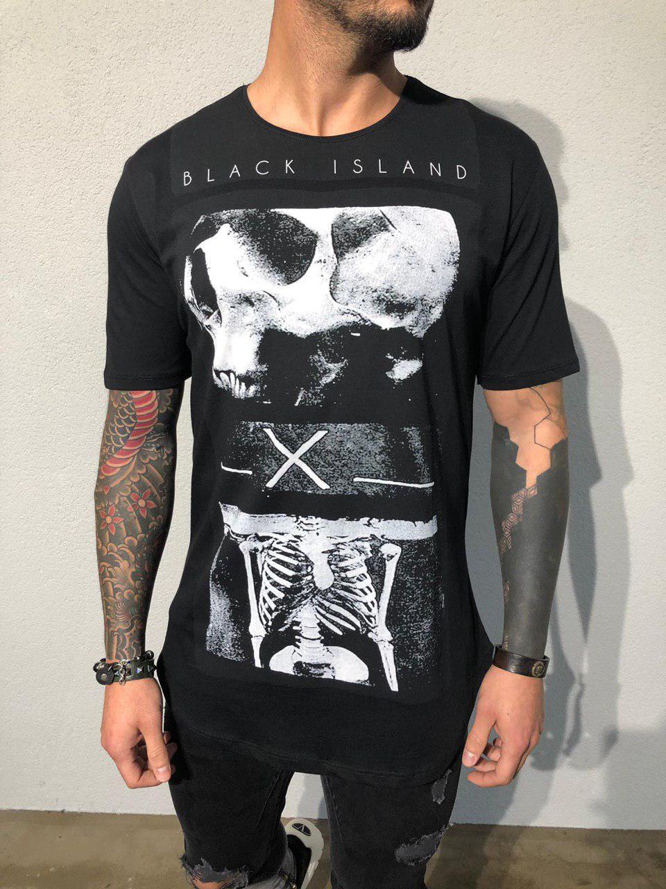 083870fc0624 Мужская футболка Black Island ADA1916 черная: продажа, цена в Киеве ...