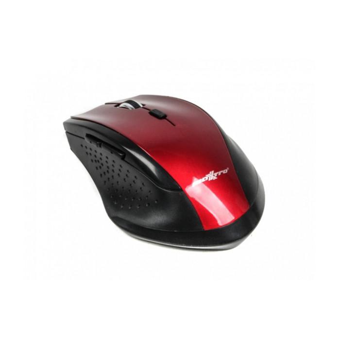 Мышь Maxxter Mr-311-R беспроводная, USB, Red