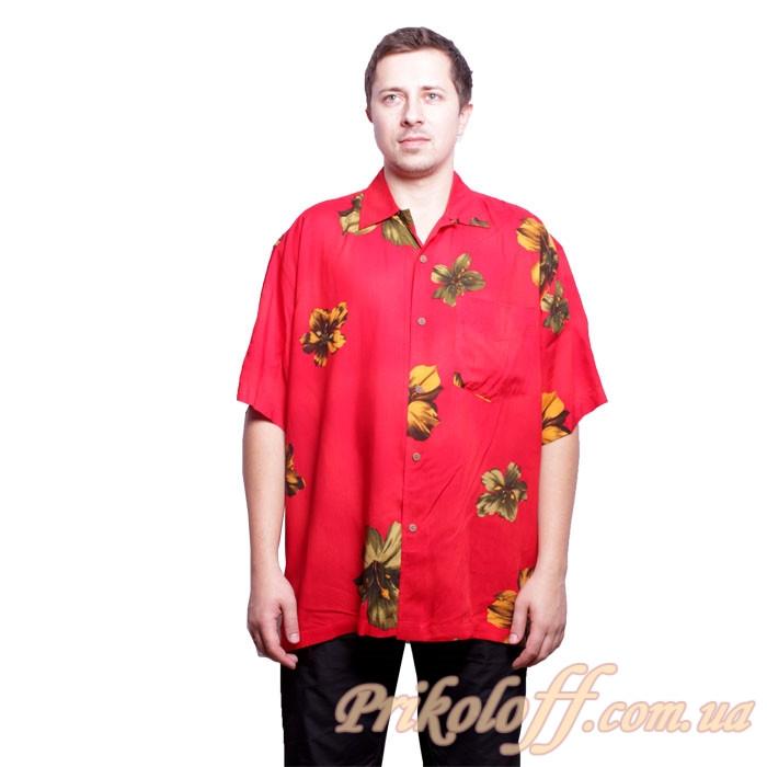 """Гавайская рубашка """"Слон"""""""