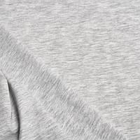 Трикотажное полотно кулирная гладь хлопок/эластан пенье 30/1, серый меланж