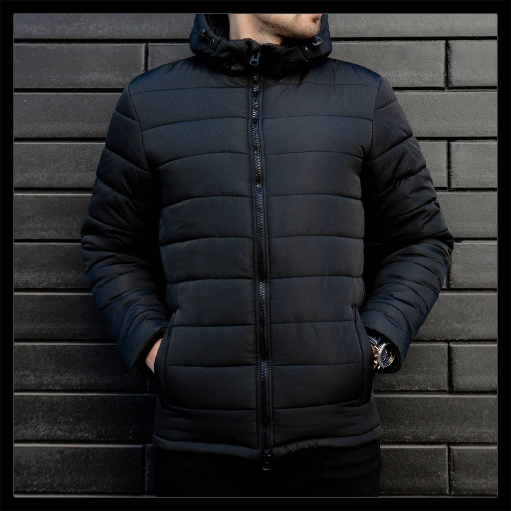 Зимова куртка чоловіча чорна Фелл   продажа 72f4eb923981f