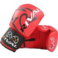 Тренировочные боксерские перчатки RIVAL RB4 Econo Bag Gloves 8 унций - S, красный