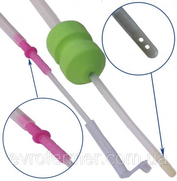 Катетер для внутриматочного осеменения со стоппером