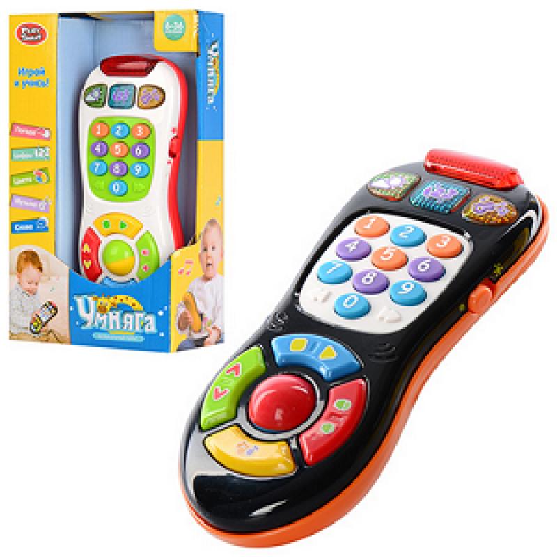 🔥✅ Интерактивный музыкальный Пульт 7390 Умняга детская говорящая игрушка