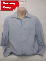Рубашка мужская 48/L. Внесезонная;
