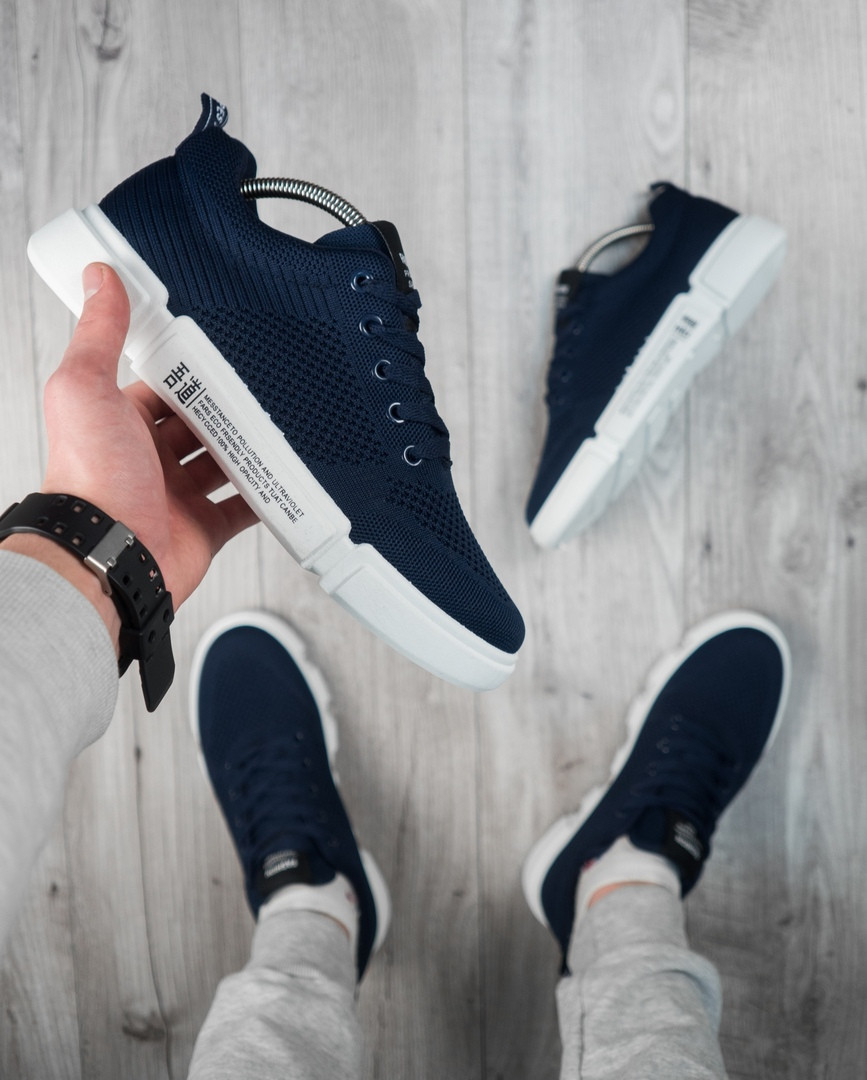 "Мужские кроссовки без бренда ""Blue/White"""