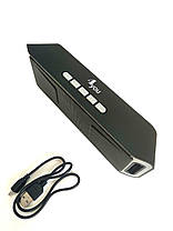 Портативная колонка BT506 4you (bluetooth, Micro SD, USB, FM) black/grey, фото 3