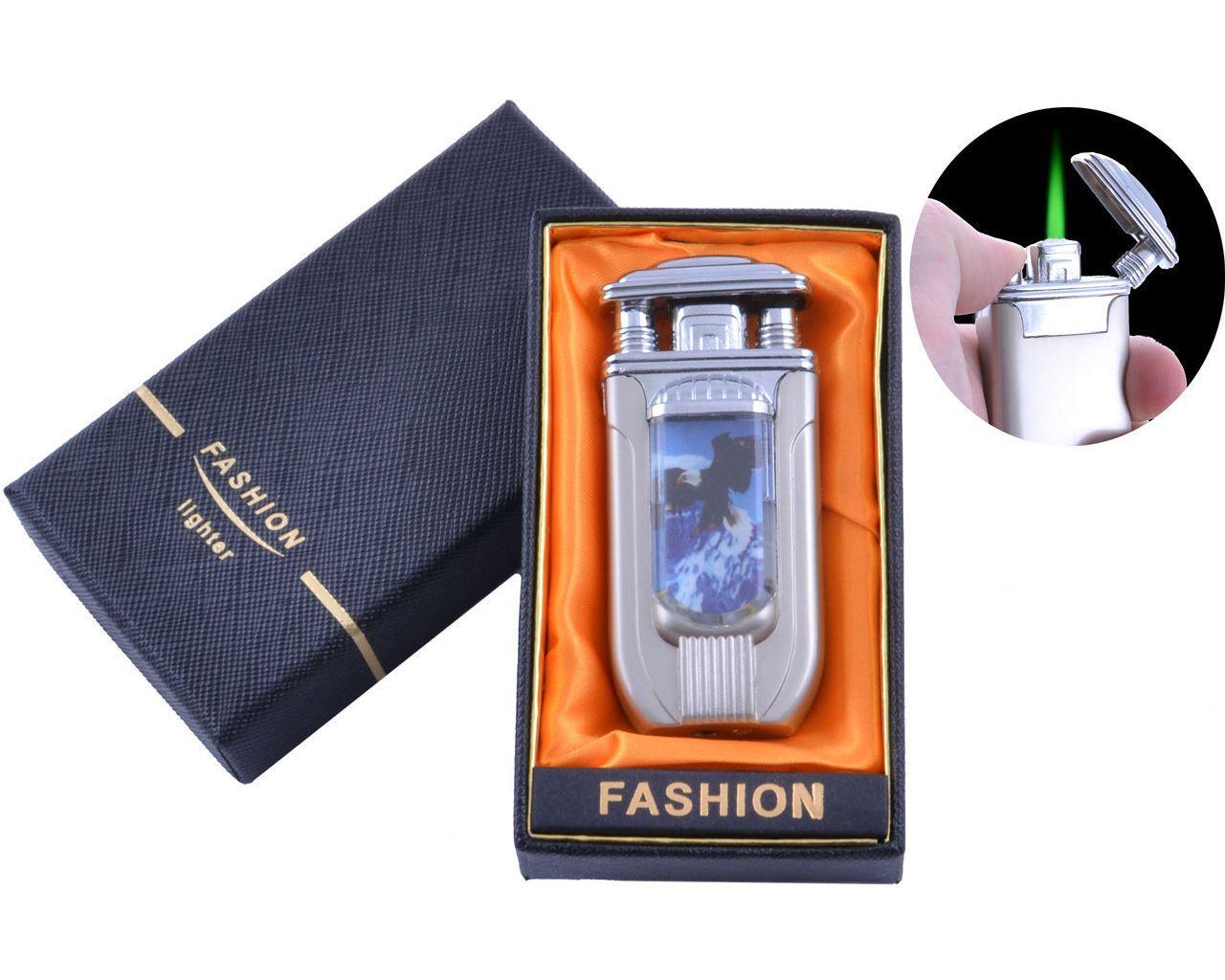 Запальничка в подарунковій коробці Дівчина (Турбо полум'я) №XT-10-3