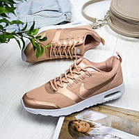66b35f88 Женские кроссовки Nike Air Max Thea Gold (Найк аир макс теа золотистые)