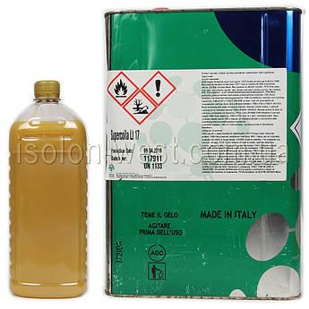 Клей полихлоропреновый Supercolla LT-17 для ткани, карпета, кожзама, без запаха (Италия, 1л)