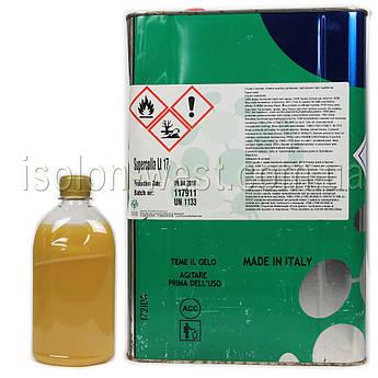 Клей полихлоропреновый Supercolla LT-17 для ткани, карпета, кожзама, без запаха (Италия, 0,5л)
