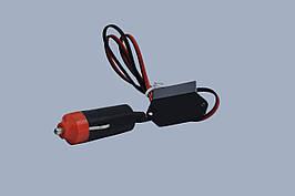 """Инвертор 12v для холодного неона 1-5m """"EL-D1С""""(штекер прикуривателя)"""
