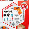 Конструктор с шуруповертом BOHUI Toys 661-302 552 деталей Junior Block, фото 3