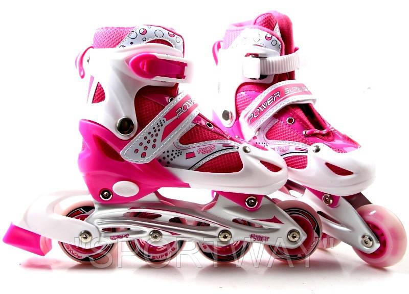 Ролики S-Power. Pink. р 37-40.
