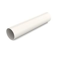 Водостічна труба BRYZA 90мм/3м, Білий RAL 9010